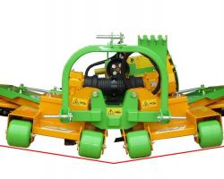 TPS ARTICULATED MOWER WITH VARIABLE CUT
